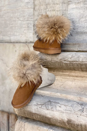 NDP - Zhc Suede Fur Boots 5820