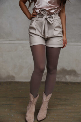 NDP - Look Fake Leather Shorts 4879